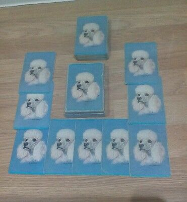 Vintage - Retro - Kitch - Leisure Playing Cards in Box - Poodles