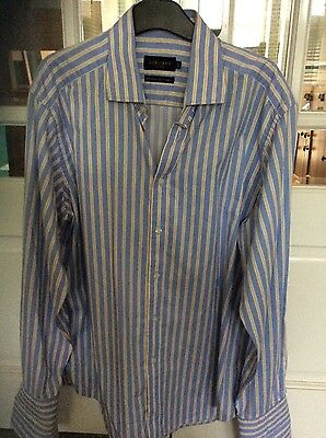 "Two Mens formal shirts Size 16.5"" collar"