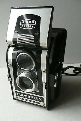 Ross Ensign.  Fulvueflex.  Synchroflash.   Made In England.