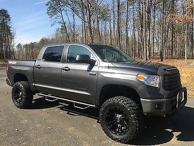 """2016 Toyota Tundra Limited Extended Crew Cab Pickup 4-Door 2016 4X4 Limited Tundra CrewMax 6"""" Lift Leather Navigation Sunroof"""