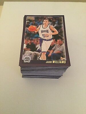 2000 - 01 Topps Basketball Card Set - Series 2 - No S/Ps - Mint! (126)