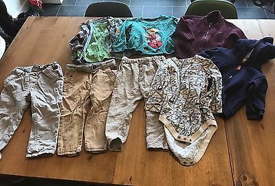 Boys Bundle Of Clothes From 9-12 Months Up To 18-24