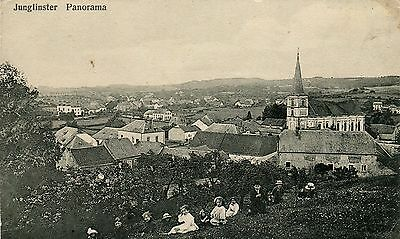 Luxembourg Junglinster - Panorama old postcard