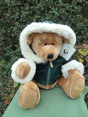 Large  HARRODS CHRISTMAS BEAR 2001 with Label