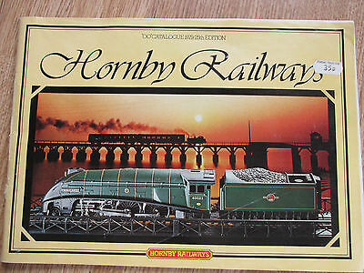 Hornby Catalogue 1979 25Th Edition