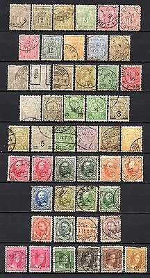 Luxumbuorg very nice older era collection,stamps as per scan(2318)