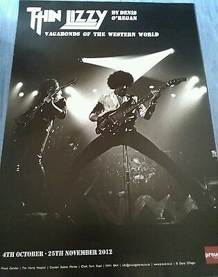 "Thin lizzy ""Vagabonds of the western world""  rare Poster"