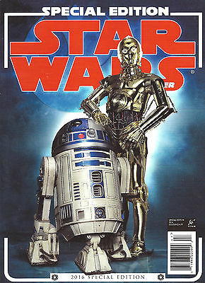 Star Wars Inside Special Edition 2016 Magazine
