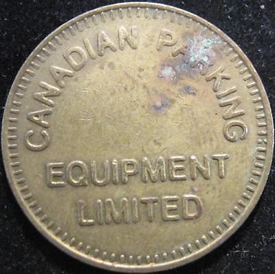 P529 - Canada - Good For Parking Only - Canadian Parking Token - 2.5 Mm - Nr