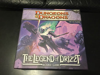 2011 Dungeons & Dragons The Legend of Drizzt Board Game