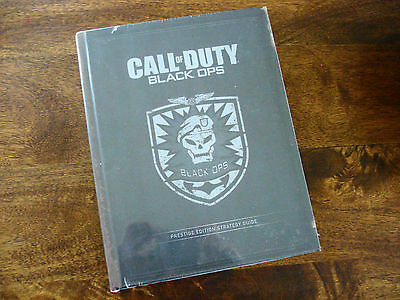 CALL OF DUTY BLACK OPS LIMITED EDITION GUIDE - Hardback - New & Sealed - Rare