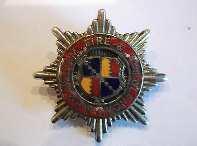 Original Birmingham Fire & Ambulance Fire Brigade Cap Badge