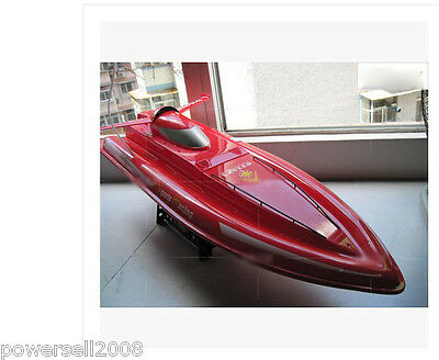 New Length 80CM Red Remote Control Speedboat Boat Rowing Boat Model Gift Toys