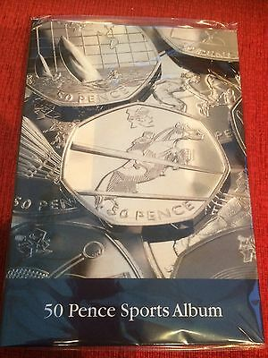 50p Coin Collectors Olympic Sports Album
