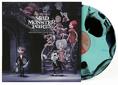 Mad Monster Party Soundtrack OST Black Green Swirl Vinyl LP Waxwork New Sealed