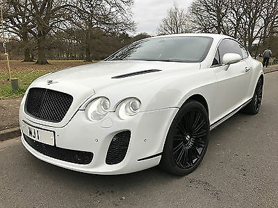 2004 Bentley Continental Gt Twin Turbo, Supersports Conversion In White, Bargain