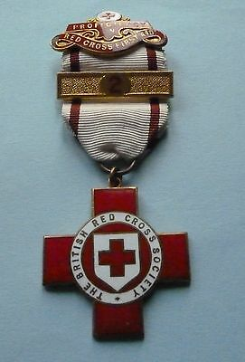 British Red Cross Society First Aid Medal / Named M I Graham