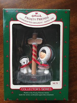 Hallmark 1988 Frosty Friends # 9 In Series