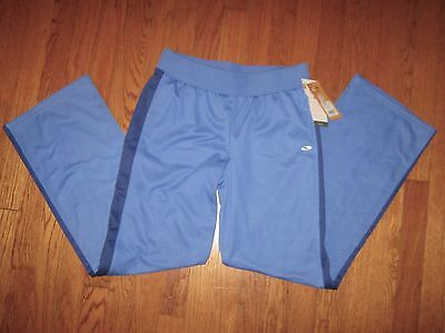 Champion C9 Duo Dry Mid Layer ~ warm up pants ~  Youth Size XL  Blue