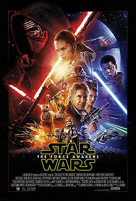 STAR WARS VII Theatrical Poster (A2: 40 x 59 cm)