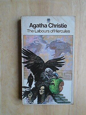 Agatha Christie TheLabours Of Hercules vintage 1976 paperback