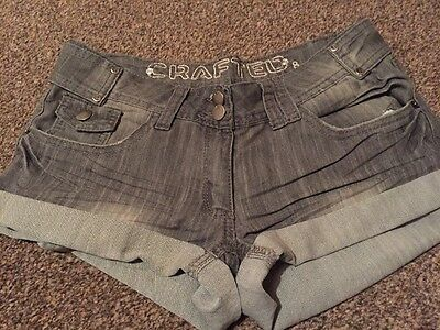 Crafted Denim Shorts. Size 8
