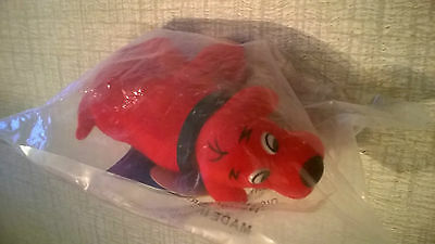 Clifford the Big Red Dog Bobble Head Figure by Scholastic Mint in package