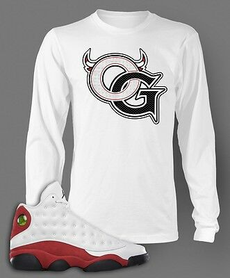 18462cd64b60 Jordan 11 Bred Low OG T Shirt to match Jordan Shoes on White Pro Club ...