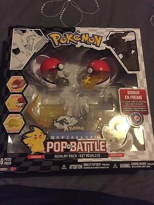 Pokemon Pop N Battle Rivalry Pack With Pikachu And Minccino. Sealed