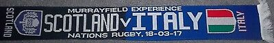 Scotland Vs Italy Rugby Scarf 2017