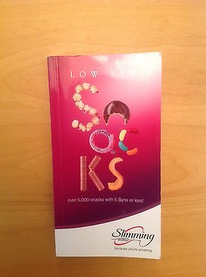 Slimming World book Low Syn Snacks