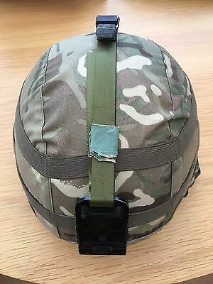 Mk7 Combat Assault Helmet Medium With Nvg Mount And Mtp Cover