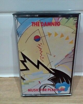CASSETTE: THE DAMNED - Music For Pleasure - PUNK