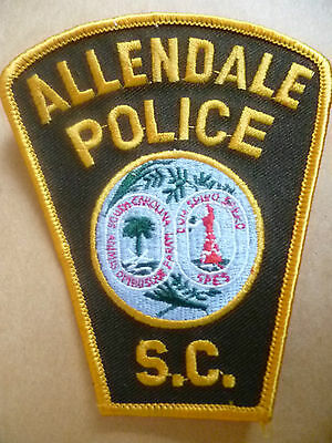 Patches: ALLENDALE SOUTH CAROLINA SC US PATCH (NEW* 11x9cm)