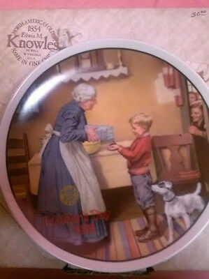 "Edwin Knowles ""the Pantry Raid"" Decorative Collector Plate"