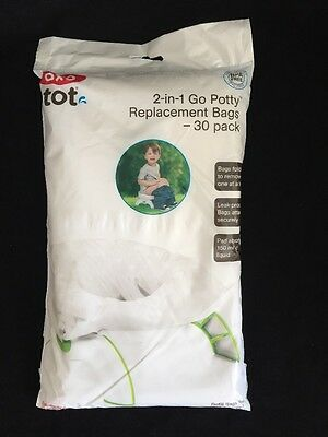 OXO tot 2 in 1 Go potty replacement bags 30 pack
