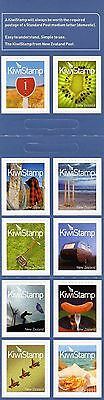 New Zealand Kiwistamps booklet issued 7 Sept 2009