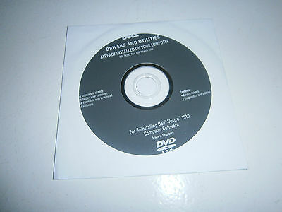 Dell Vostro 1510 Laptop Device Drivers & Utilities Cd - Still Sealed -$2 Postage