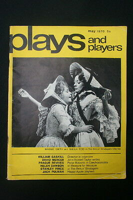 PLAYS & PLAYERS MAGASINE May 1970 Maggie Smith Robert Stephens