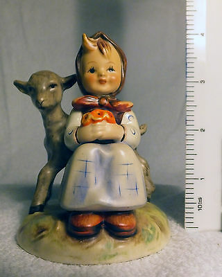 Hummel figurine 'Girl with lamb' number 182.