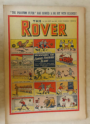 Comic- THE ROVER, NO 1314, 2nd September 1950