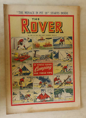 Comic- THE ROVER, NO 1306, 8th July 1950