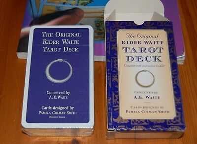 Rider Waite Tarot Cards Deck (unopened) with free tarrot book