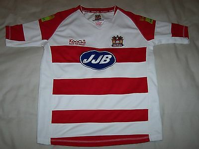 """Mens/boys Wigan Warriors Kooga Rugby Top Size 40"""" Chest"""