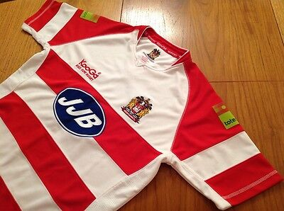 Wigan Warriors Rugby Shirt     Adult.  M