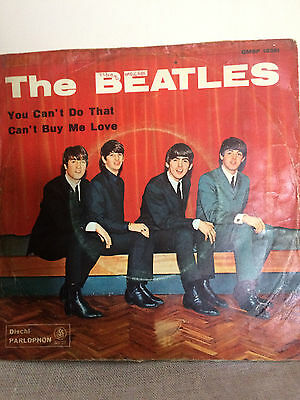 The Beatles - You Can't Do That - Can't Buy Me Love - Parlophon Qmsp 16361