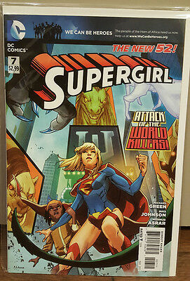 Supergirl #7 The New 52 DC Comics Mint-MN COMBINED SHIPPING