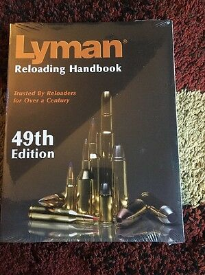 49 Edition Lyman Reloading Manual