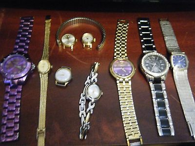 Watches Mixed Lot of Wristwatches