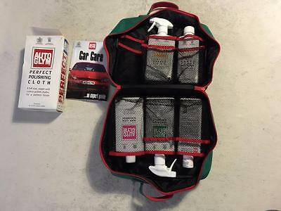 Autoglym Car Cleaning Set (5 Products & Cloths) With Executive Carry Case